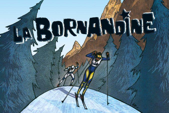 """Course populaire de ski de fond """"La Bornandine"""" et la Colimareille"""