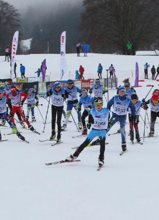 Course de ski de fond : La Savoyarde Caisse d'Epargne